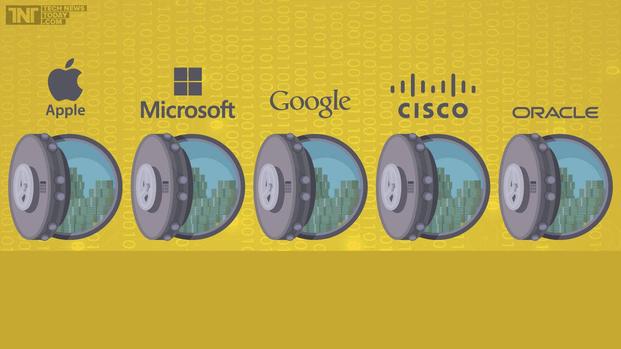 apple-inc-microsoft-corporation-google-cisco-and-oracle-enjoy-cash-reserves