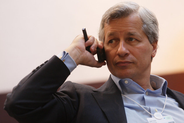 James Dimon, chairman, president and chief executive officer