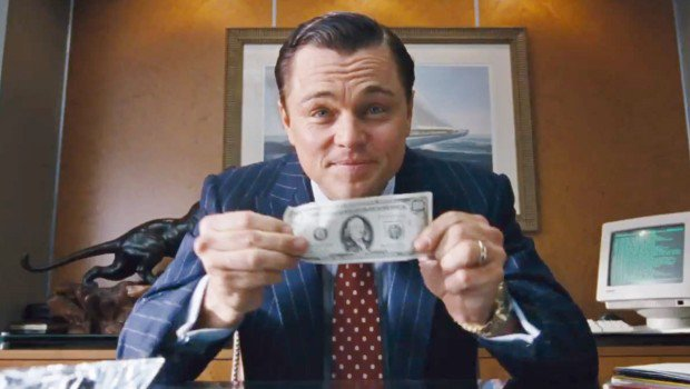 di caprio the wolf of wall street