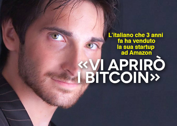 Dopo l'exit ad Amazon, la nuova sfida di Vincenzo Di Nicola è bitcoin