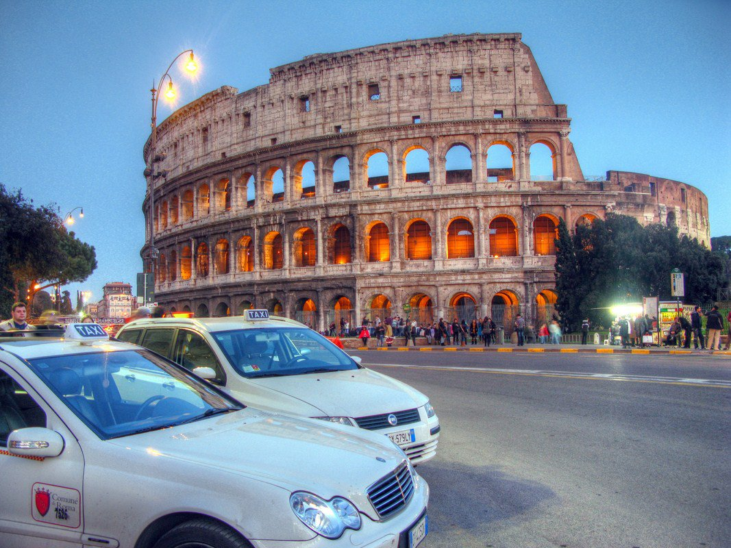 taxi-colosseo