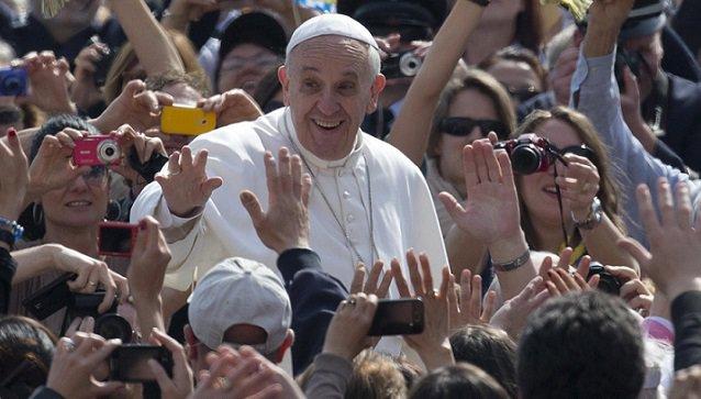 L'udienza generale di Papa Francesco
