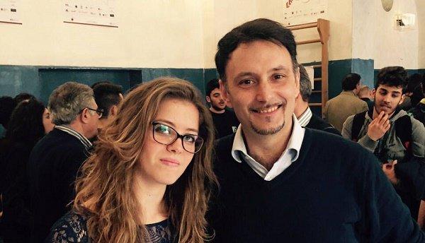 Arianna Moro e Mimmo Aprile