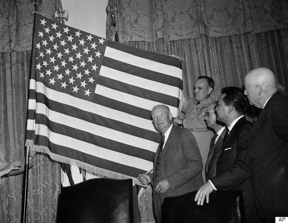 President Dwight  Eisenhower                          1959