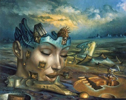 01-Multiple-Gil-Bruvel-Insurgence-of-the-Mind-Surreal-Paintings-www-designstack-co