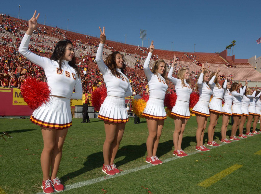 USP NCAA FOOTBALL: UTAH STATE AT SOUTHERN CALIFORN S FBC USA CA