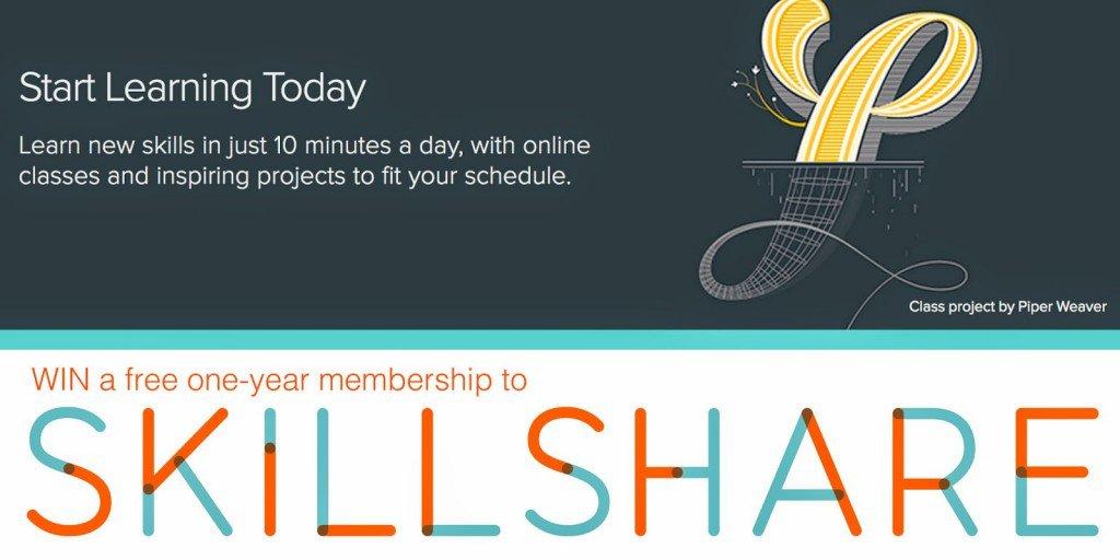Skillshare Giveaway Cornflake Dreams