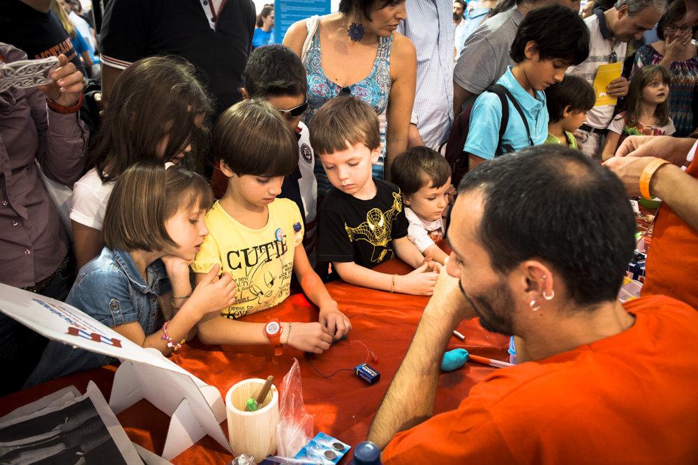 MakerFair2014-Shoot4change - Bianca Ferraiolo