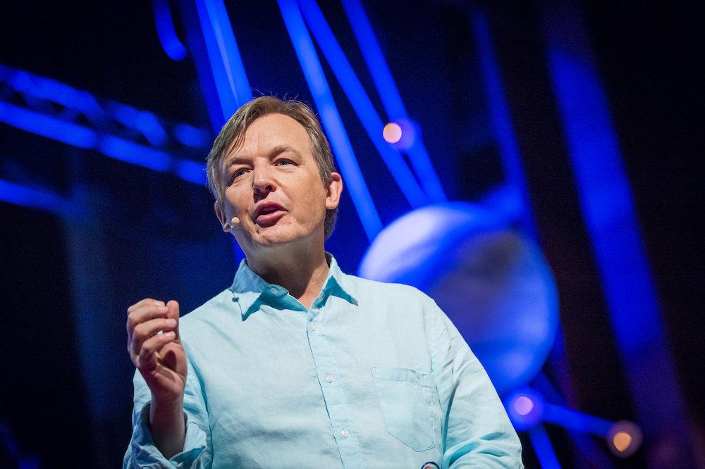 Chris Anderson at TEDGlobal 2013 in Edinburgh, Scotland. June 12-15, 2013. Photo: James Duncan Davidson