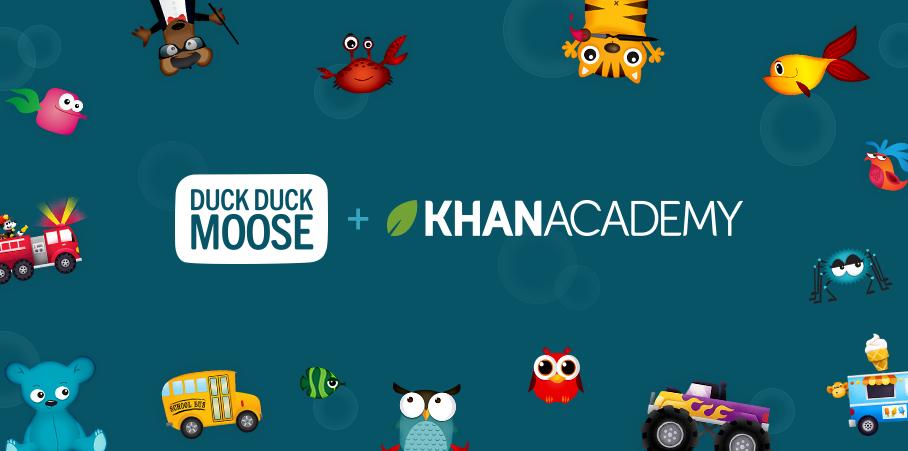 Khan Academy e Duck duck