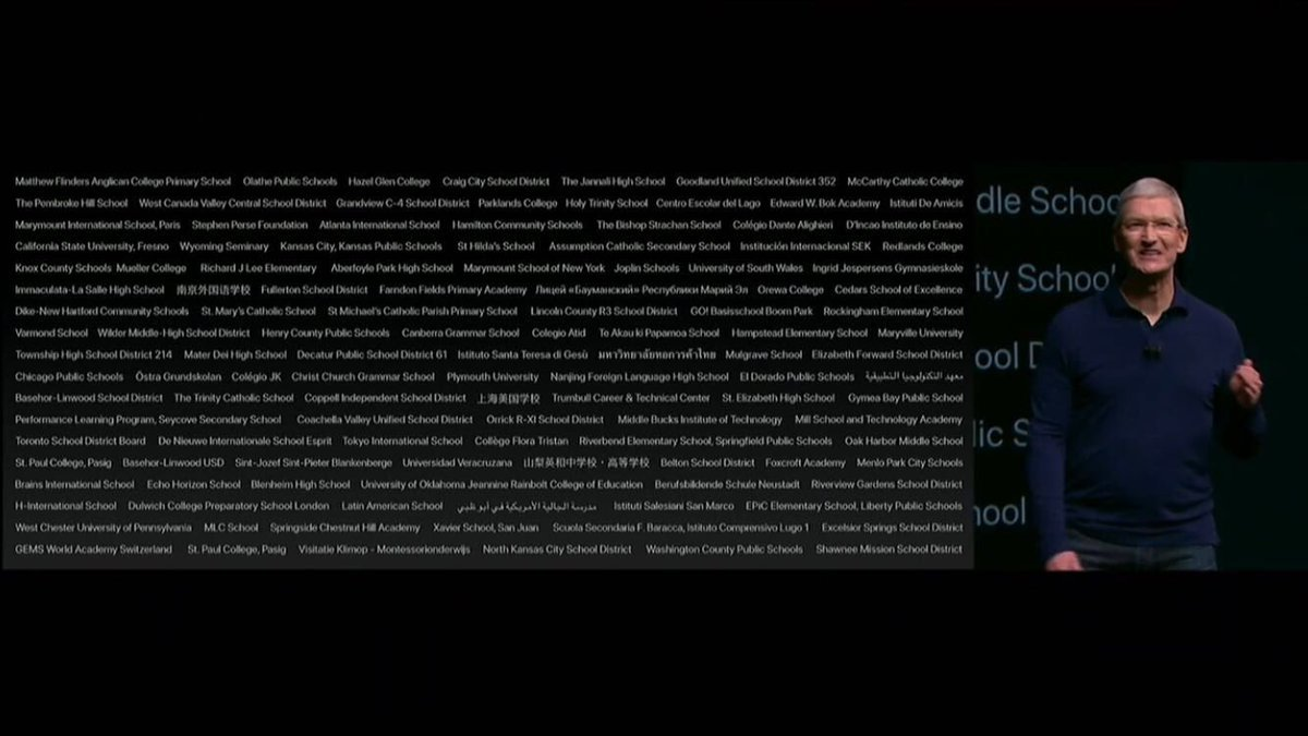 La scuola di H-Farm citata da Tim Cook nell'evento Apple sul futuro del coding