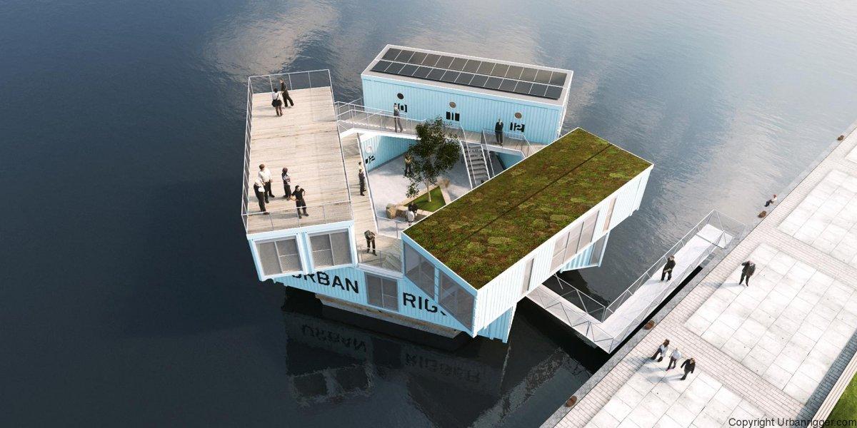 A Copenaghen Hanno Trasformato I Container In Case Per Gli