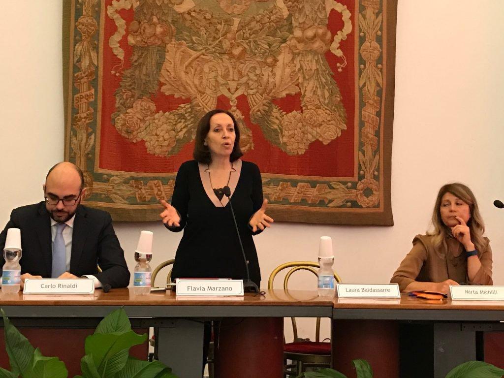 Flavia Marzano, assessore a Roma Semplice