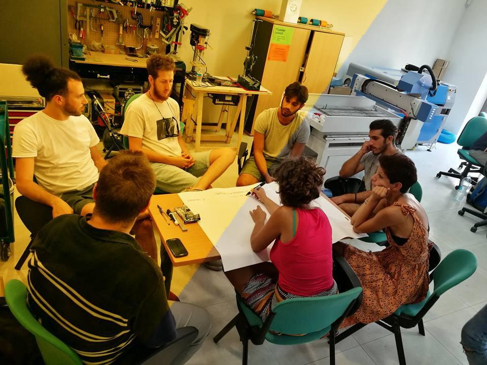 I partecipanti ai laboratori XYZ