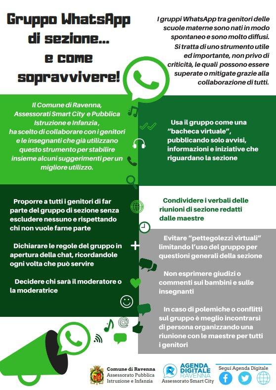 Arriva il vademecum per l'utilizzo consapevole delle chat di gruppo Whatsapp per i genitori