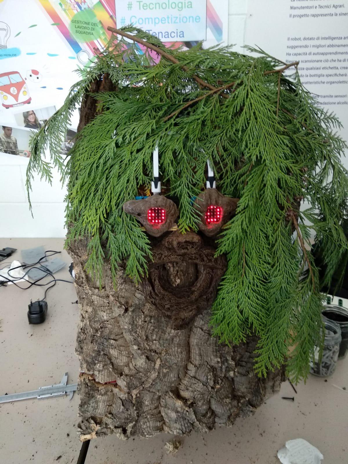 Ent, la pianta robot che aiuta il pianeta