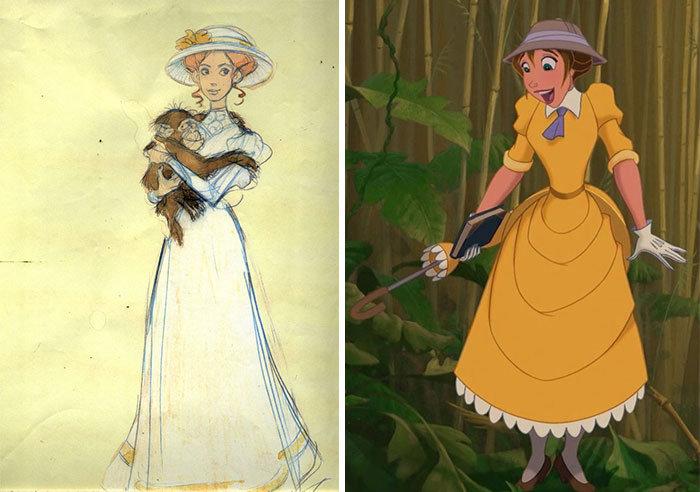 Il Prima E Il Dopo Dei Personaggi Disney Cosi Sono Nati I Disegni