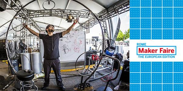 A Maker Faire arriva Maker Art: l'innovazione abbraccia l'arte e la musica
