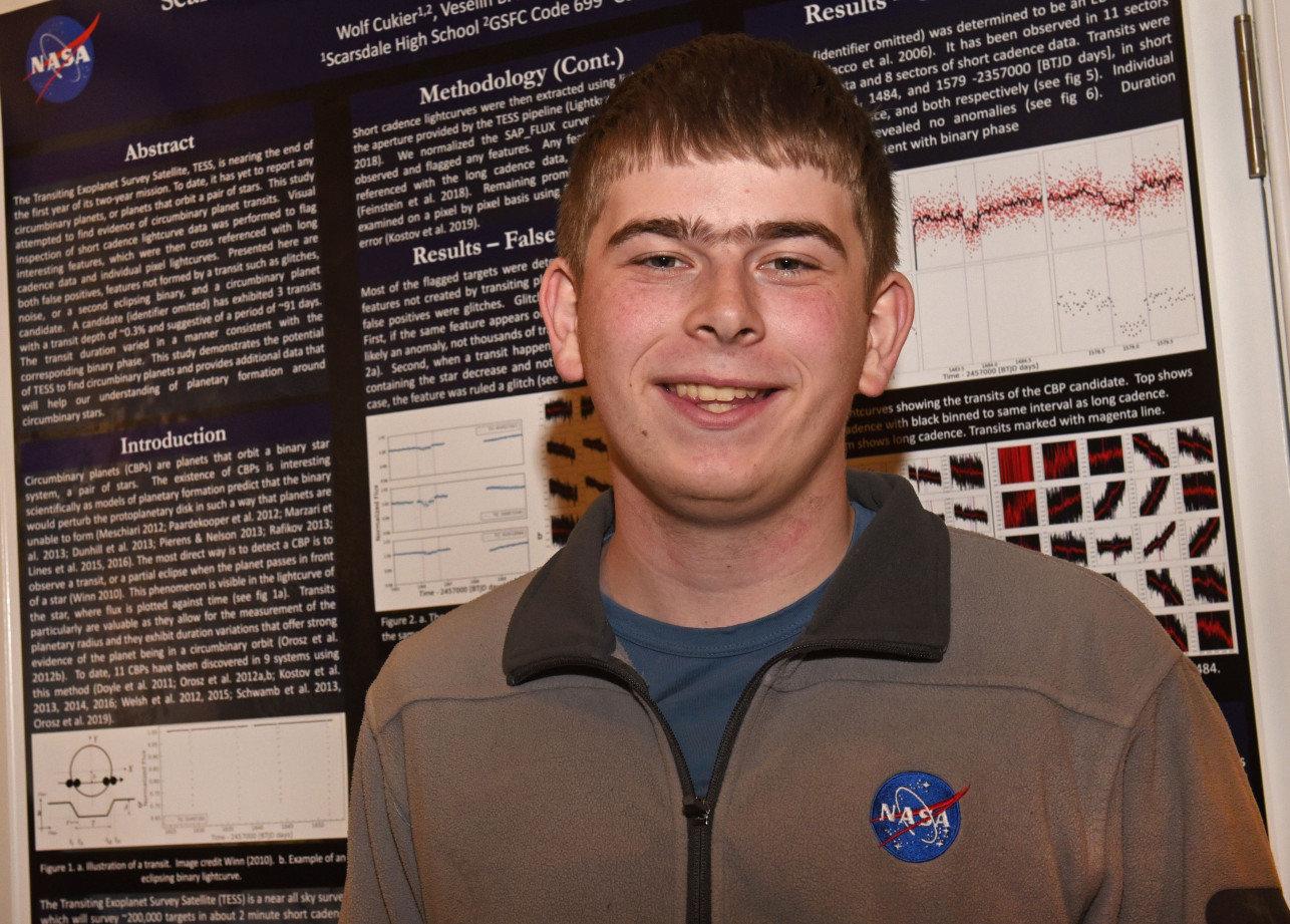 Wolf Cukier, stagista 17enne scopre un pianeta dopo 3 giorni di tirocinio alla Nasa